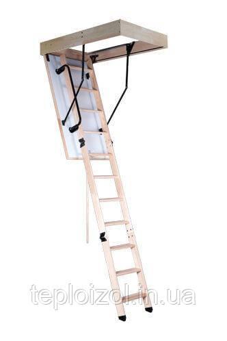 Горищні сходи Oman Termo Long S 120х60