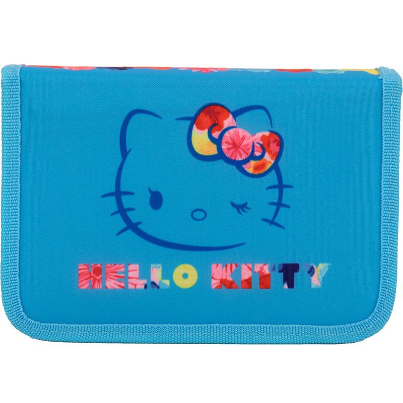 Пенал школьный Kite Hello Kitty 622 1 отделение, 2 отворота, без напол