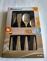 Набор детских столовых приборов  4 предмета Kinghoff KH-3586, фото 1