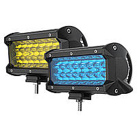 7дюймов144W24LEDСвет для бара для работы на свету Автомобильная лампа для вождения для внедорожника SUV - 1TopShop
