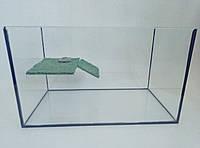 Террариум для водных черепах, размером 80х35х60 на 168 литров.