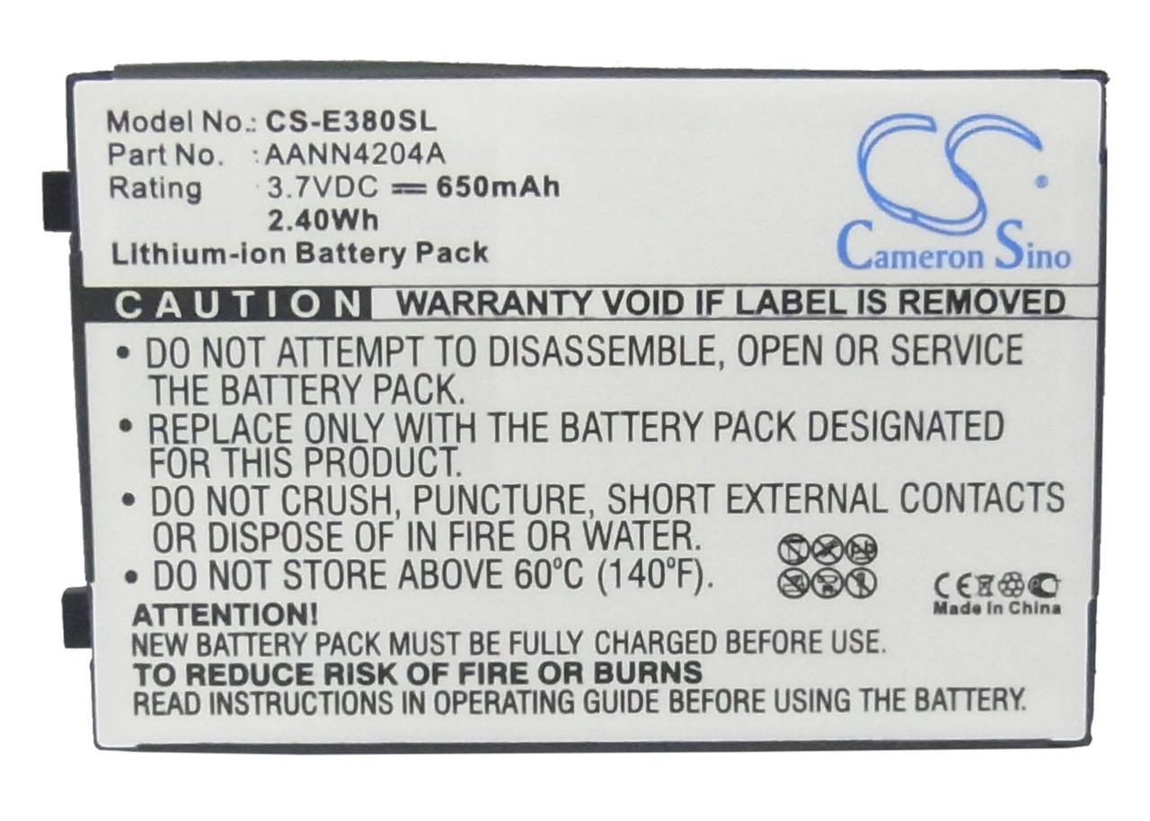 Аккумулятор для Motorola C350V 650 mAh
