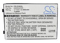 Аккумулятор для Motorola C350V 650 mAh, фото 1