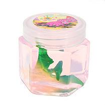 Динозавр Животный Кристалл Грязь Бумага Hex Прозрачная слизь DIY 5.5cm * 5.7cm Пластилин Игрушечный подарок, фото 2