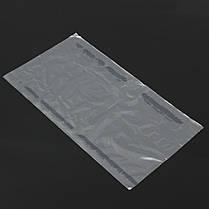 500Pcs Термоусадочная термоусадочная пленка Сумки Пленка прозрачная плоская поли хранения Сумка Мыло Свечи Упаковка 15 × 27 см, фото 3