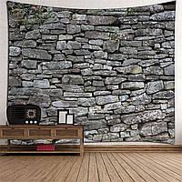 3D Каменный кирпич Декоративная мандала Гобелен Настенная витрина Гостиная Спальня Украшения