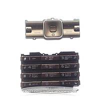 Клавиатура для мобильного телефона Sony Ericsson K770, кофейная, русская