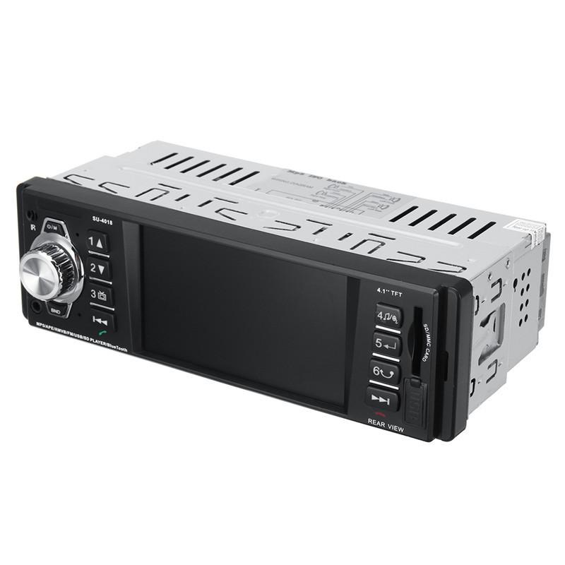SU-4018 Bluetooth Авто MP5-плеер Часы Дисплей FM Радио SD Автоd U Диск Авто DVD-плеер - 1TopShop