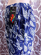 Cултанки женские 3/4 цветные бамбук Бабочка, с карманами, размер 44-48, фото 4