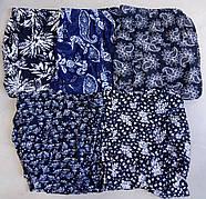 Cултанки женские 3/4 цветные бамбук Бабочка, с карманами, размер 44-48, фото 5