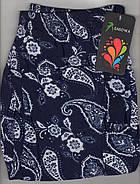 Cултанки женские 3/4 цветные бамбук Бабочка, с карманами, размер 44-48, фото 7