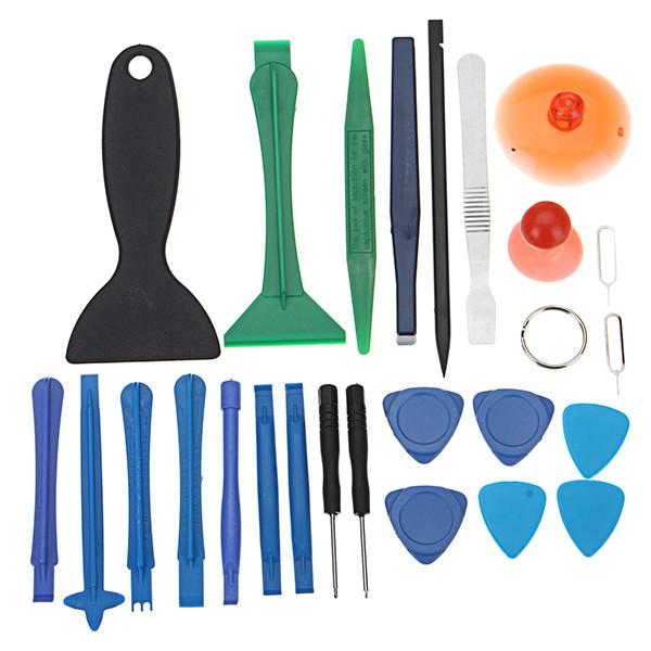25 в 1 Разберите DIY Комбинация Инструмент Открытие набора Набор Набор Для iPhone Для ipad Для Samsung Dedic 1TopShop