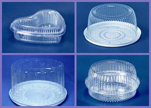 Пластиковая упаковка для кондитерских изделий