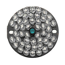 48 LED 850 нм Просветитель IR Инфракрасная ночная лампа для ночного видения Лампа для 50 охранных систем видеонаблюдения камера 1TopShop, фото 3