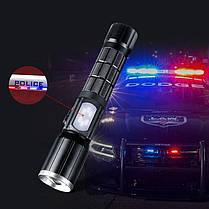 XANES 1303 XM-L T6 2000LM Яркий масштабируемый USB аккумуляторный тактический светодиодный фонарик 1TopShop, фото 3