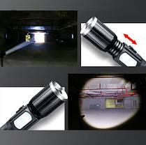 XANES 1303 XM-L T6 2000LM Яркий масштабируемый USB аккумуляторный тактический светодиодный фонарик 1TopShop, фото 2