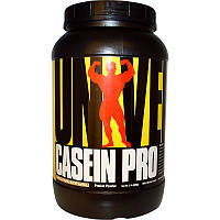 Казеиновый протеин, (Casein Pro, Protein), шоколад, банан, арахисовое масло, Universal Nutrition, 909 г
