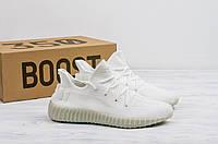 Мужские кроссовки в стиле Adidas Yeezy Boost 350 V2 Cream White (41, 42, 43, 44, 45 размеры)
