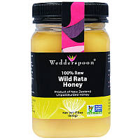 Дикий мед Рата, Wild Rata Honey, Wedderspoon Organic, 500 г.
