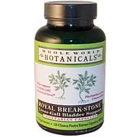 Whole World Botanicals, Роскошная камнеломка, для поддержки печени и желчного пузыря, 400 мг, 120 капсул на растительной основе