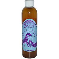 WiseWays Herbals, LLC, Raven, ополаскиватель для волос с яблочным уксусом, 8 жидких унций