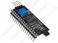 Преобразователь интерфейса I2C для LCD