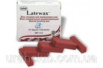 Воск выравнивающий  Latewax (Ремовакс) ,темно-красный