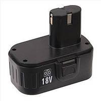 Аккумулятор для шуруповерта Einhell 18 V, Vorskla ПМЗ 18+1H, Ferm FAS-1800K2 (прямой)