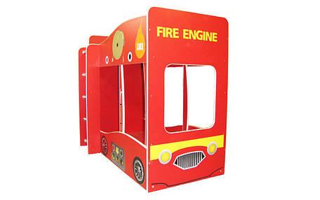 ✅Двухъярусная Кровать Пожарная машина 80х170 см ТМ Viorina-Deko, фото 2