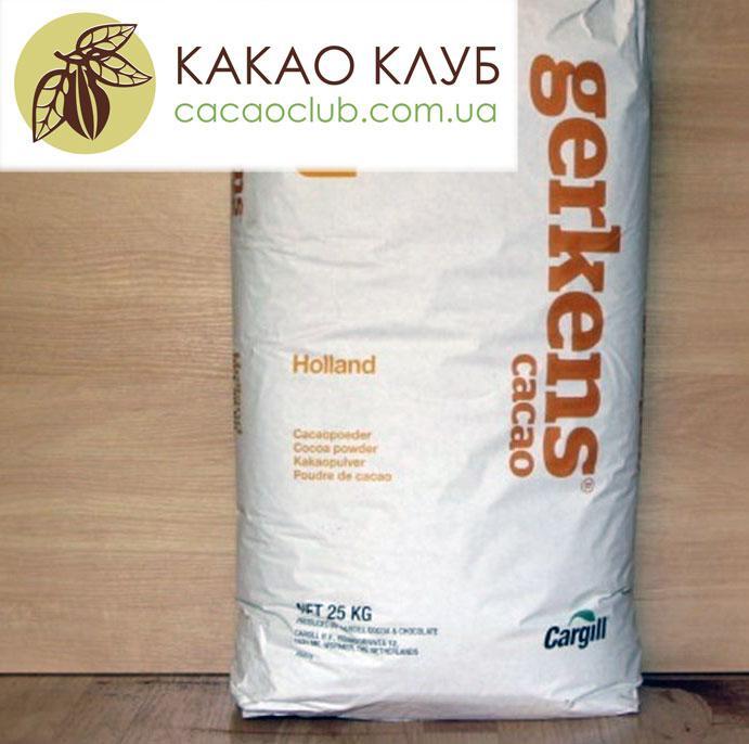 Какао порошок Cargill Gerkens 20-22%, GT78, алкализированный, Premium,  Нидерланды, оптом.