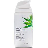 InstaNatural, Retinol Vitamin A Cream with Vitamin C + Hyaluronic Acid, Anti-Aging, 3.4 fl (100 ml)