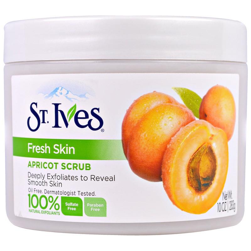St. Ives, Свежая кожа, абрикосовый скраб, 10 унций(283 г)
