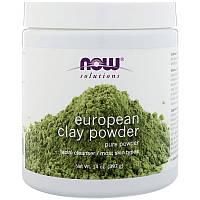 Now Foods, Порошок европейской глины, 14 унций (397 г)