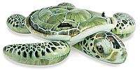 """Плотик надувной Intex. Надувной плотик """" Черепаха """". Для плавания товары детские."""