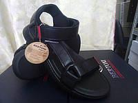 Стильные мужские кожаные сандалии Bertoni, фото 1