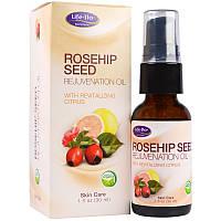 Life Flo Health, Омолаживающее масло шиповника, 1 жид. унция(30 мл)