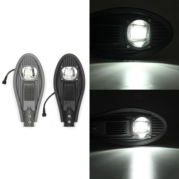 5W Солнечная Мощность с подсветкой Датчик LED Street Light Лампа с полюсом Водонепроницаемы для На открытом воздухе Road - 1TopShop
