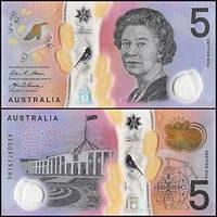Австралия / Australia 5 Dollars (2016) UNC