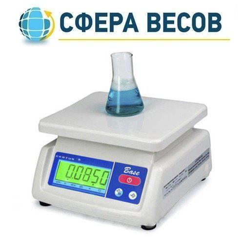 Весы фасовочные CERTUS CBCp (6 кг)