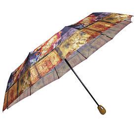 Зонт складной автомат Лица