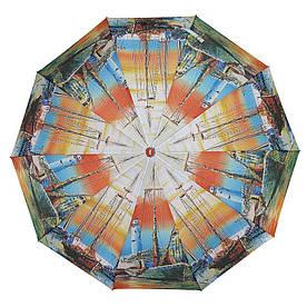 Зонт складной полуавтомат Корабли