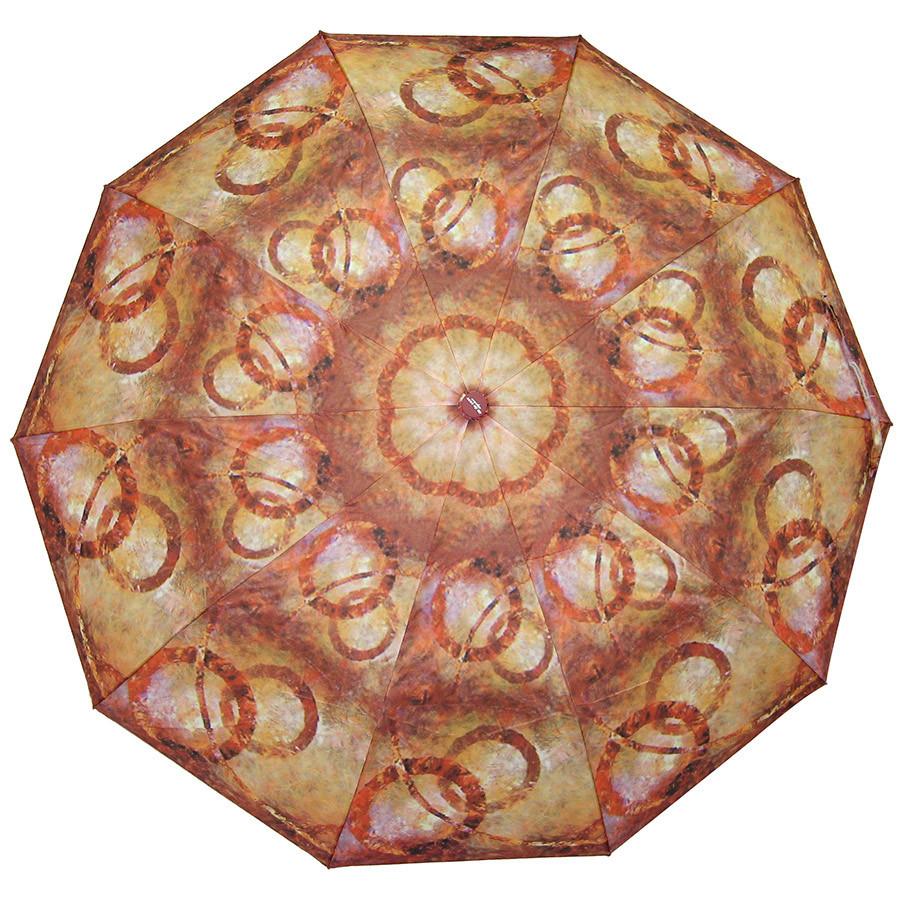 Зонт складной полуавтомат Кольца