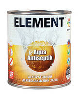 Пропитка декоративная Aqua Antiseptik ELEMENT сосна 0,75л