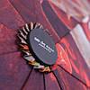 Зонт складной полуавтомат Темно-красный, фото 4