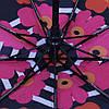 Зонт складной автомат Цветы, фото 3