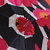 Зонт складной автомат Цветы, фото 5