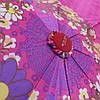 Зонт складной  автомат Фиолетовый, фото 5