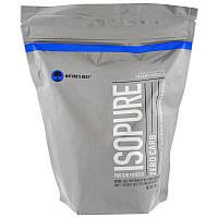 Nature's Best, IsoPure, Белковый порошок без углеводов, сливочная ваниль, 1 фунт (454 г)
