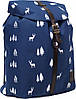 Украина Рюкзак Bagland Рюкзак с кожзамом 14 л. Синий (0010366)