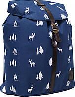 Украина Рюкзак Bagland Рюкзак с кожзамом 14 л. Синий (0010366), фото 1